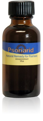 Psoriarid - Natural Psoriasis Treatment with Soy Esters, 1 Oz Bottle, Non-Greasy Liquid Topical.