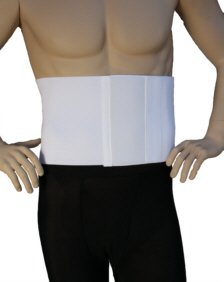 AlphaBrace Abdominal Binder Surgical Support Wrap & Hernia Reduction Device