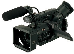 Panasonic AG-DVX100B - Camcorder - widescreen - 410 Kpix - optical zoom: 10 x - Mini DV