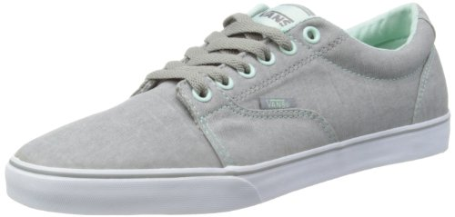 Vans Mens Kress Grey/Pastel Aqua Low-Top VOYG8V1 5.5 UK, 38.5 EU, 8 US