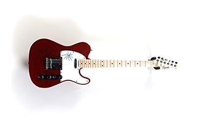 "Michael Jackson - Signed Fender Telecaster Guitar w/ ""Thriller"" & drawing inscribed"