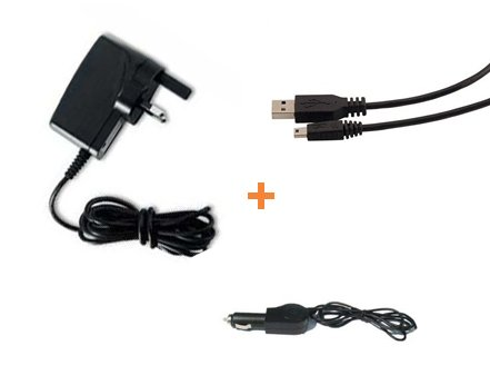 Garmin Nuvi Mini USB &#39;3 in 1&#39; Multi PowerKit Mains + Car + USB Data Sync Charge Computer Cable For Garmin Nuvi: Garmin Nuvi 200w 205 215 215t 205w 205WT 250w 255w 200wt 200WT 255wt 255T 265T 265WT 275t 765t 775t 860 865t 770 760t Widescreen Models (See Product Description Below For Compatibility Details) - iZKA&#174; One Stop Shop For All Your Accessory Needs