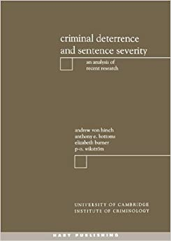 effects punishment and sentencing Cjs 127 penology and the penal system question 2 drawing both your readings and class discussions make the strongest case you can for or against custodial.