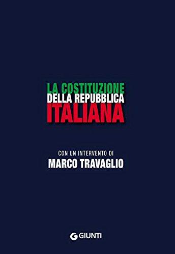 La Costituzione della Repubblica Italiana PDF