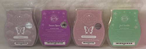 Scentsy Cherished, Forever Yours, Rosewood & Freesia and Just Breathe 4 Bar Bundle (Just Breathe Scentsy Wax compare prices)
