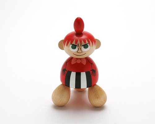 Moomin ムーミン 木製手描き人形(つぼ押し)/ミー