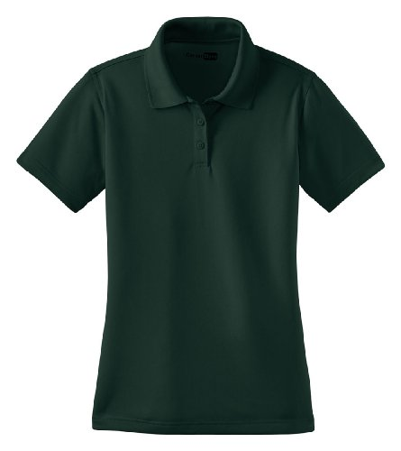 Cornerstone Women'S Traditional Snag Proof Performance Polo Shirt_Dark Green_Xl