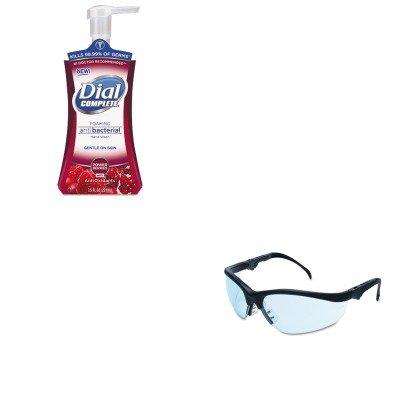 kitcrwkd313dpr03016-value-kit-crews-klondike-plus-safety-glasses-crwkd313-and-dial-foaming-antibacte