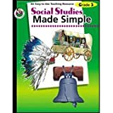 img - for Social Studies Made Simple, Grade 3 by Q L Pierce (2001-09-11) book / textbook / text book