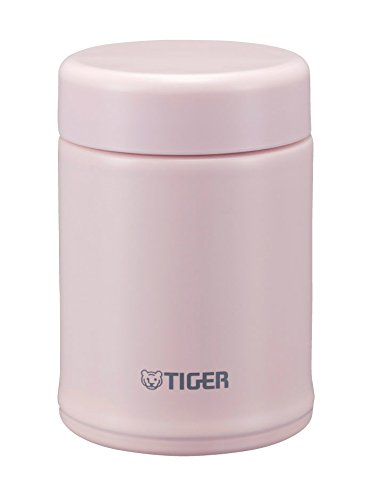 Tiger MCA-B025-PF Stainless Steel Vacuum Insulated Soup Cup, 8-Ounce, Framboise Pink (Tiger Food compare prices)