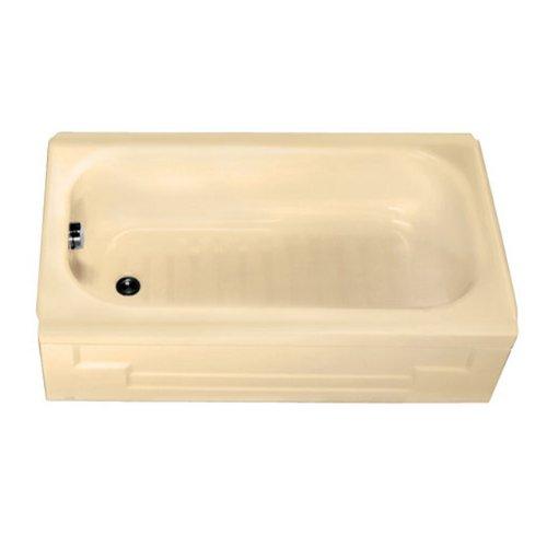 American Standard 0139.011.021 Mackenzie 4-1/2-Feet Recess Bathtub with Left-Hand Drain, Bone