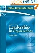 Leadership in Organizations:Global Edition