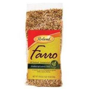 Farro, Semipearled 100% Natural (17.6 Oz.)