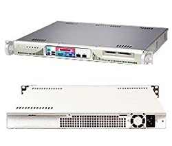 Supermicro 1U Server SYS-5015M-MF Barebone Single LGA 775 Socket ZIF 1x3.5'' Internal Drive Bay 2 PCI-e Gigabit LAN Ports ATI Graphics 260W power supply Full Warranty