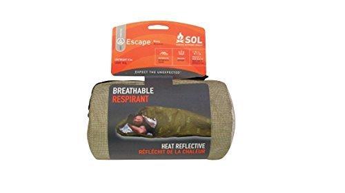 Survive-Outdoors-Longer-Escape-Bivvy-Breathable-Respirant-OD-Green-0593-Pound-by-Survive-Outdoors-Longer