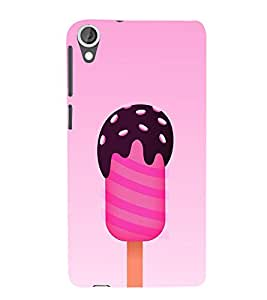 Chocolate Ice Cream 3D Hard Polycarbonate Designer Back Case Cover for HTC Desire 820 :: HTC Desire 820 Dual Sim :: HTC Desire 820S Dual Sim :: HTC Desire 820q Dual Sim :: HTC Desire 820G+ Dual Sim