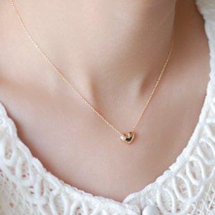(フルールドリス)Fluer de lis ハート ゴールド ネックレス チョーカー アパレル レディース ファッション 小物 ジュエリー アクセ アクセサリー 3463