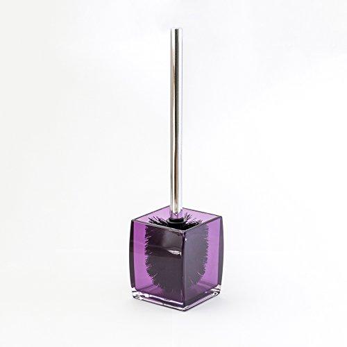 Purple bathroom accessories will brighten up your bathroom for Purple toilet accessories