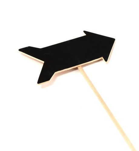 Weddingstar-Wooden-Black-Board-Stick-in-Directional-Arrow-Shape-Natural-Finish