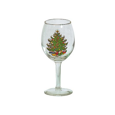Original Christmas Tree Wine Goblet (Set of 4) Cuthbertson Christmas Tree