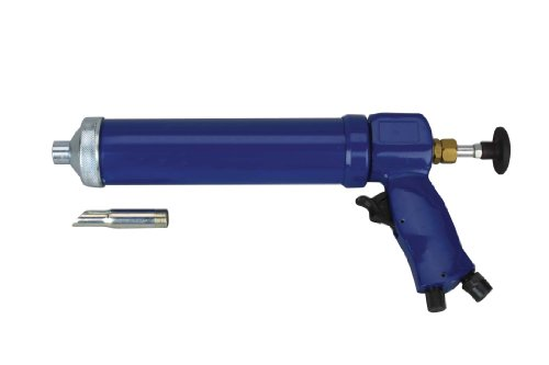 Wellmade Tools 3373 10-Ounce  Bulk/Sausage Convertible Pneumatic Caulking Gun