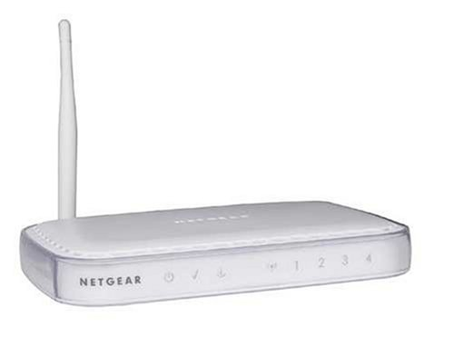 Netgear DG834G 54Mbps Wireless ADSL2+ Modem Firewall Router with 4-port 10/100 Switch