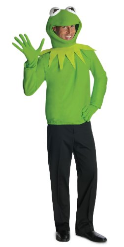 Kermit The Frog Adult Costume Muppets Costume 880319