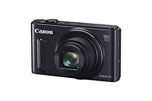 Canon 111C012BA SX610 HS PowerShot Point and Shoot Digital Camera (20.2 MP, 18x Optical Zoom, 3 inch LCD) - Black