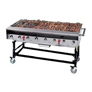 Portable Natural Gas Grill