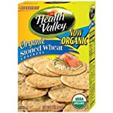 Health Valley Crackers, Stoned Wheat, 6-Ounce Boxes (Pack of 6)