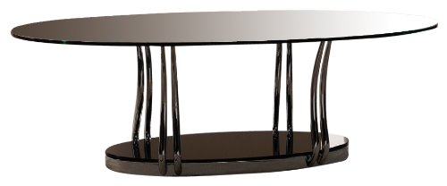 Exclusive Cosmo Coffee Table Clear Glass Coffee Tables Reviews
