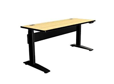"""Adjustable Height Desk or Table - Stand Up Computer Workstation - Base & Top - 24"""" x 60"""""""