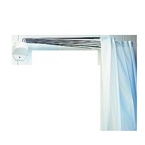 Spirella ombrella white 1004441 supporto per tenda doccia for Spirella accessori bagno