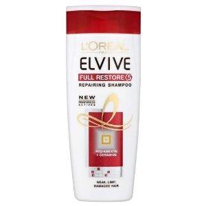 Loreal Elvive Full Restore 5 Shampoo for Weak, Limp, Damaged Hair 400ml