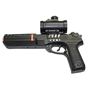 Airsoft Pistol Ks-91 Spring Pistol Red Crosshair
