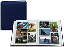 Family Treasures Deluxe 12x15 Midnight-Blue Scrapbook by Pioneer - HUGE Capacity -
