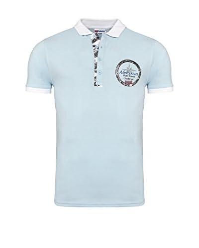 Nebulus Poloshirt Vito himmelblau