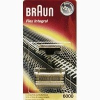 BRAUN PART FOIL & CUTTER 6000 SERIES BR-6000FC (Braun 380 Replacement compare prices)