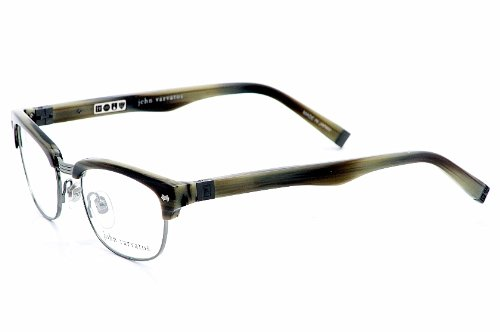 John Varvatos V132 Eyeglasses V-132 Horn Optical Frame 51mm