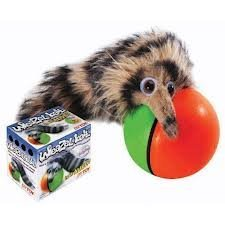 Pet Westminister Weazel Ball - The Weasel Rolls With Ball. Battery Operated Loads Of Fun Supply Store/Shop