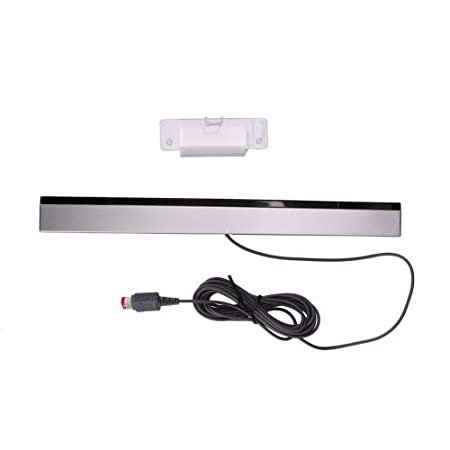 Wired Infrared Ray Inductor Sensor Bar for Nintendo Wii