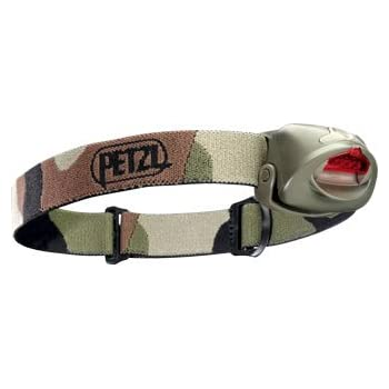 Petzl E49PC TacTikka Plus 4-LED Headlamp, Camouflage (japan import)