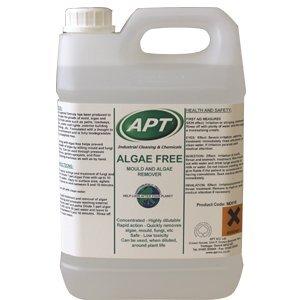 Algae remover, moss remover