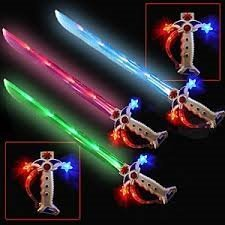 Swashbuckler LED Pirate Light up Sword with Sound