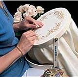 Stitch Ezi Embroidery Frame-Hoop (Color: Cream, Tamaño: 10 inch hoop diameter)