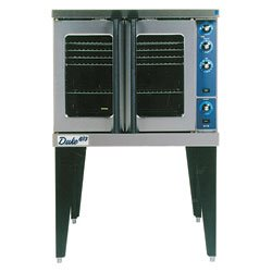 Duke 613Q-G1 Gas Convection Oven - Deluxe Series Single Stack