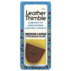 Leather Thimble Medium/Large Collins