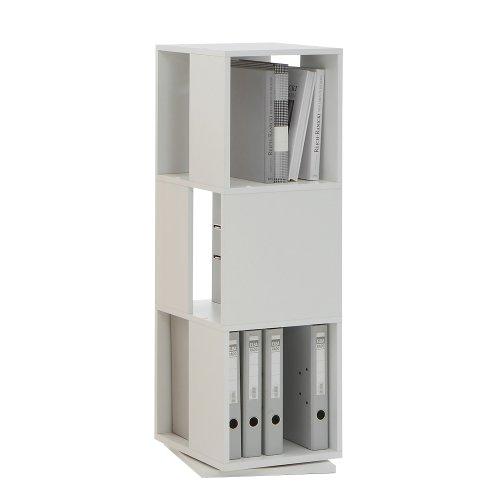 drehbares-Regal-Tower-in-weiss