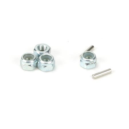 Team Losi Wheel Nuts & Drive Pins: Mini-T