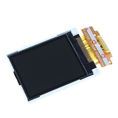 "Zcl Xs057 1.8"" Serial 128 X 160 Spi Tft Lcd Module Display For (For Arduino) - Black + White + Golden"